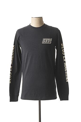 T-shirt manches longues bleu DEUS EX MACHINA pour homme
