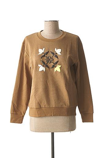 Sweat-shirt marron OXBOW pour femme