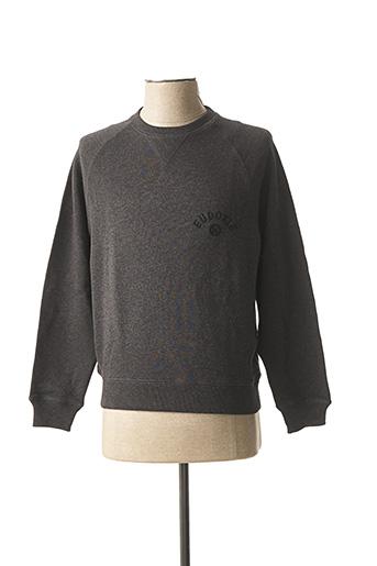 Sweat-shirt gris EUDOXIE pour homme
