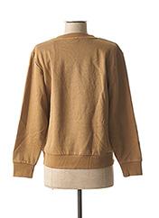 Sweat-shirt marron OXBOW pour femme seconde vue