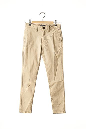 Pantalon casual beige TOMMY HILFIGER pour garçon
