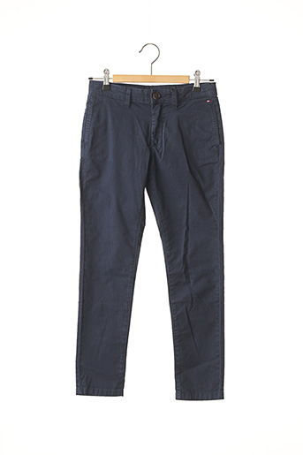 Pantalon casual bleu TOMMY HILFIGER pour garçon