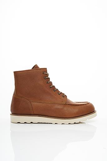 Bottines/Boots marron CHEVIGNON pour homme