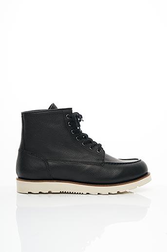Bottines/Boots noir CHEVIGNON pour homme