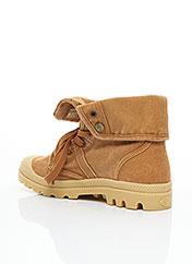 Bottines/Boots marron PALLADIUM pour femme seconde vue