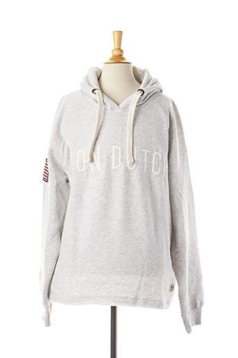 Sweat-shirt gris VON DUTCH pour femme