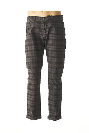 Pantalon casual gris RECYCLED ART WORLD pour homme