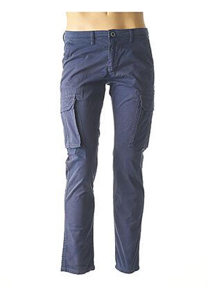 Pantalon casual bleu RECYCLED ART WORLD pour homme