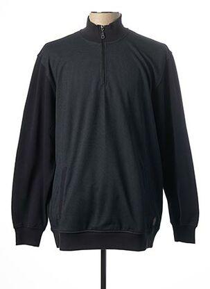 Sweat-shirt bleu MAXFORT pour homme
