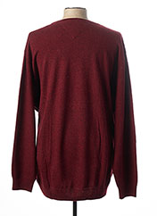 Pull col rond rouge CASAMODA pour homme seconde vue