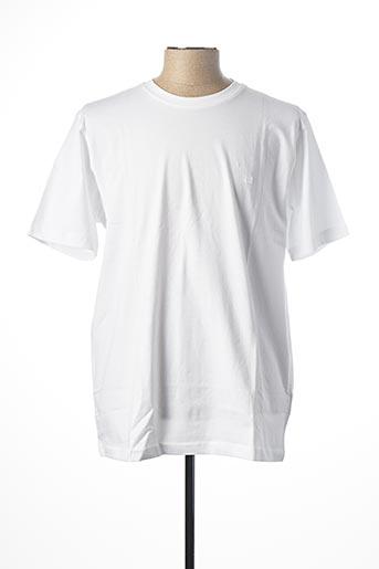 T-shirt manches courtes blanc CASAMODA pour homme