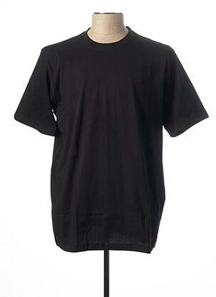 T-shirt manches courtes noir CASAMODA pour homme