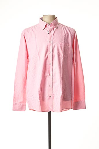 Chemise manches longues rose CASAMODA pour homme