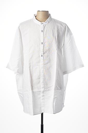 Chemise manches courtes blanc EASY COMFORT pour homme