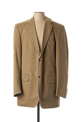 Veste chic / Blazer beige M.E.N.S pour homme