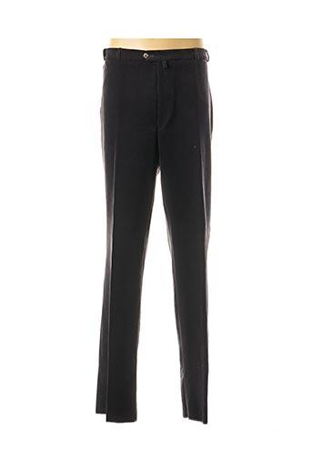 Pantalon casual noir KLOTZ pour homme