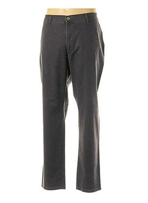 Pantalon casual gris PIONIER pour homme