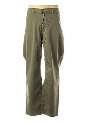Pantalon casual vert MAXFORT pour homme