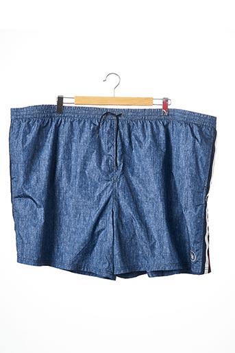 Short bleu MAXFORT pour homme