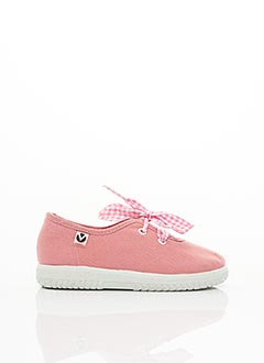 Baskets rose VICTORIA pour fille