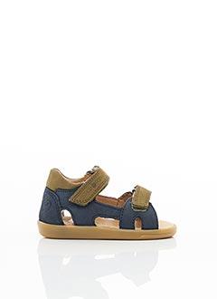 Sandales/Nu pieds bleu SHOO POM pour garçon