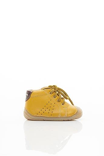 Bottillons jaune BABYBOTTE pour garçon