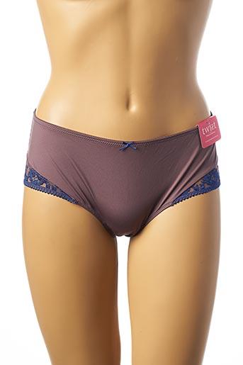 Shorty/Boxer violet PRIMA DONNA pour femme