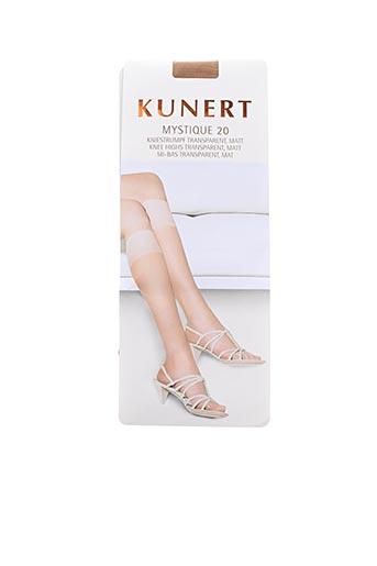 Chaussettes chair KUNERT pour femme