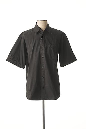 Chemise manches longues noir CLOUD'S pour homme