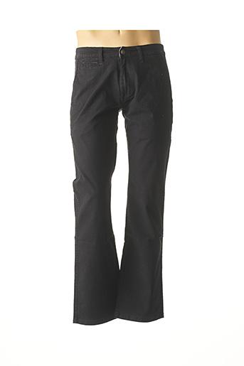 Pantalon casual noir COMPTOIR DU RUGBY pour homme