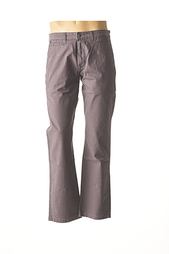 Pantalon casual violet COMPTOIR DU RUGBY pour homme