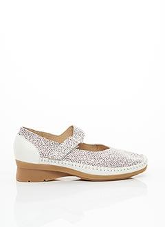Chaussures de confort blanc HIRICA pour femme