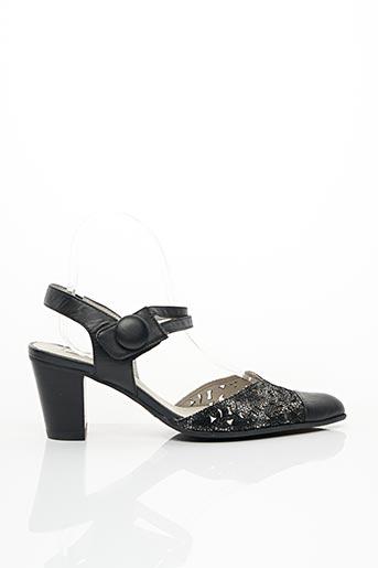 Escarpins noir FUGITIVE BY FRANCESCO ROSSI pour femme