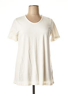 T-shirt manches courtes beige CISO pour femme