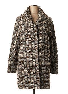 Manteau long gris POLARBEAR pour femme