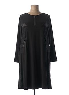 Robe mi-longue noir JEAN GABRIEL pour femme