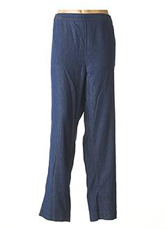 Jeans coupe slim bleu AGATHE & LOUISE pour femme