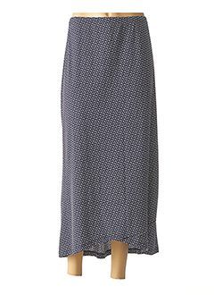 Jupe longue bleu G!OZE pour femme