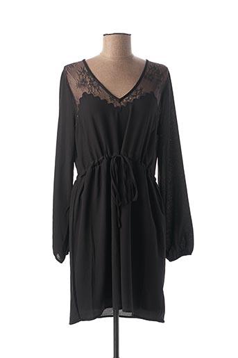 Robe courte noir CHERRY pour femme