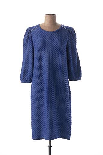 Robe mi-longue bleu FRANSA pour femme