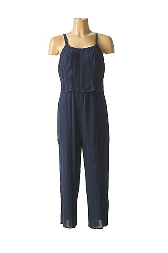 Combi-pantalon bleu ICHI pour femme