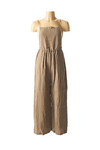 Combi-pantalon vert THE KORNER pour femme