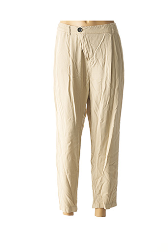 Pantalon casual beige CHANTAL B. pour femme