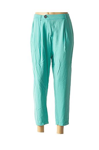 Pantalon casual bleu CHANTAL B. pour femme
