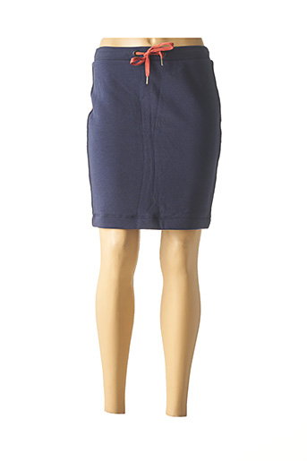 Jupe courte bleu EDC BY ESPRIT pour femme