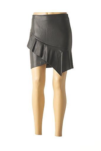 Jupe courte noir SISLEY pour femme