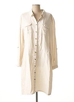 Robe mi-longue beige SCAPA pour femme