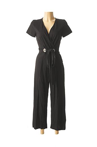 Combi-pantalon noir NINATI pour femme