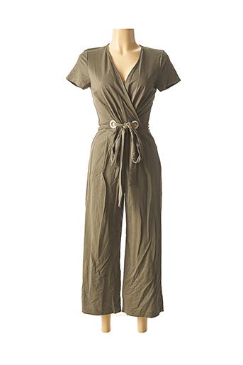 Combi-pantalon vert NINATI pour femme
