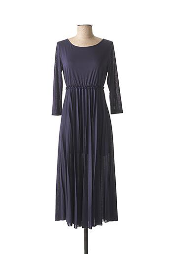 Robe longue bleu NINATI pour femme